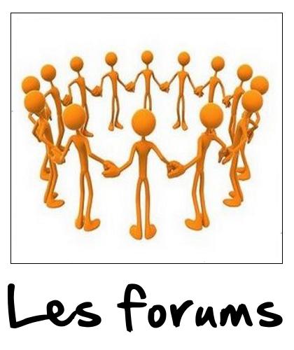 Aller sur les forums : échangeons sur nos problèmes, nos solutions et nos astuces. C'est en partageant que son savoir grandit !