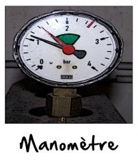 Le manomètre chauffage