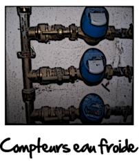 Compteurs d'eau froide