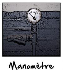 Un manomètre sanitaire
