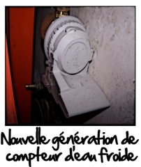 Nouvelle génération de compteur d'eau froide
