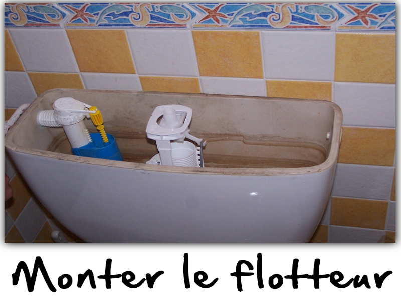 comment reparer le flotteur des toilettes. Black Bedroom Furniture Sets. Home Design Ideas