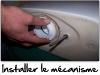 Installer le mécanisme