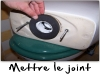 Mettre le joint