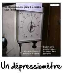 Dépressiomètre