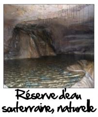 Réserve d'eau naturelle, souterraine