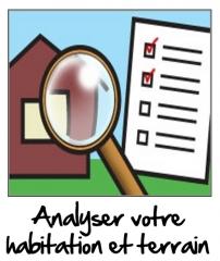 Analyser la Maison et le terrain