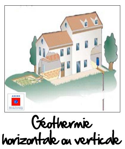 La géothermie horizontale ou verticale